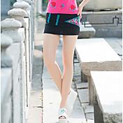 Damer Ferie Mini Nederdele A-linjeEnsfarvet Trykt mønster Sommer