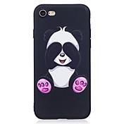 Funda Para Apple iPhone X iPhone 8 Diseños Funda Trasera Oso Panda Animal Suave TPU para iPhone X iPhone 8 Plus iPhone 8 iPhone 7 Plus