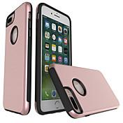 リンゴのiphone 7プラスiphone 6s 6プラスiphone se 5s 5のケースカバーtpuのフレームケースとプラスチック