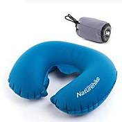 ネックピロー 携帯用 折り畳み式 弾性ある 旅行用睡眠グッズ 膨張式 空気圧 旅行 屋外 オフィス向け