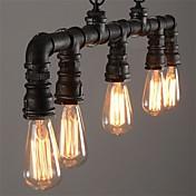 Vintage Farol Campestre Tradicional/Clásico Retro Lámparas Colgantes Para Sala de estar Dormitorio Cocina Comedor Habitación de