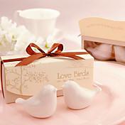 beter gifts®love birds saleros y pimenteros hacen los favores de la boda