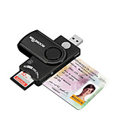 Tarjeta SIM SD/SDHC/SDXC MicroSD/MicroSDHC/MicroSDXC/TF USB 2.0 USB Lector de tarjetas