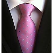 Hombre Todas las Temporadas Para el Cuello Corbata Rosa