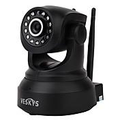veskys® 720p hd wi-fi ip cámara w / 1.0mp teléfono inteligente de control remoto inalámbrico de apoyo tarjeta de 64 gb tf