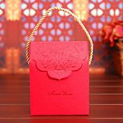 De Forma Cúbica Papel de tarjeta Papel perlado Soporte para regalo  Con Cajas de regalos Bolsos de regalos