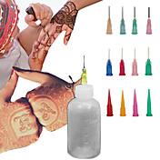 ヘナアプリケーター一時的なタトゥーキットボディインクハーブの一時的な刺青
