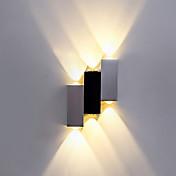Moderno/Contemporáneo Para Interior Metal Luz de pared 90-240V 1W