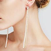 Mujer Pendientes colgantes Perla artificial La imitación de diamante Sexy Moda Personalizado Euramerican joyería película joyería de