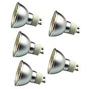 3W LEDスポットライト 30 SMD 5050 280 lm 温白色 クールホワイト 装飾用 AC 12 V 5個 GU10