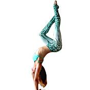 Dame Farveblok Trykt mønster Legging
