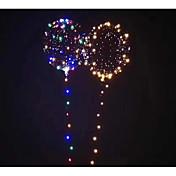 風船 LEDバルーン おもちゃ 円形 ノベルティ柄 休暇 ロマンティック ファンタジー きらきら 点灯 奇妙なおもちゃ 空気注入式 パーティー 旅行 新デザイン 子供用 成人 小品
