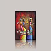 Impresión de lienzo Abstracto,Un Panel Lienzos Vertical Estampado Decoración de pared For Decoración hogareña