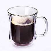 desgaste del regalo para trabajar el drinkware del cumpleaños de Halloween, taza de cristal del vino de vino del café 200 de cristal endurecido