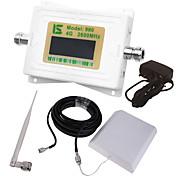 mini pantalla lcd inteligente 4g980 2600mhz repetidor de señal de teléfono móvil con antena de ventosa al aire libre / antena de látigo de