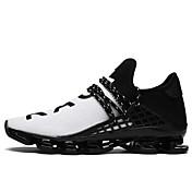 Hombre Zapatos Tul Primavera Verano Confort Zapatillas de deporte Paseo Para Casual Negro Negro/blanco Negro/Rojo