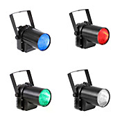 U'King 4pcs Luces LED Para Escenarios Luces Dirigidas Auto 5 para Al Aire Libre Fiesta Estado Boda Discoteca Profesional Alta calidad