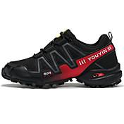 Hombre Zapatos Tul Primavera Otoño Confort Zapatillas de deporte Paseo Para Casual Azul Oscuro Gris Negro/Rojo