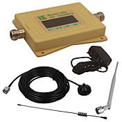 mini pantalla lcd inteligente 4g980 2600mhz repetidor booster señal de teléfono móvil con antena de lechón al aire libre / antena whip