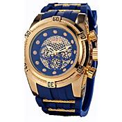 Hombre Cajas de Reloj Reloj Casual Reloj Deportivo Reloj de Moda Reloj de Vestir Reloj Esqueleto Reloj de Pulsera Chino Cuarzo Calendario