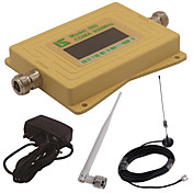 mini pantalla lcd inteligente cdma980 850mhz repetidor booster señal de teléfono móvil con antena de lechón al aire libre / antena whip