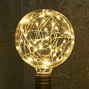 1 unids e27 g95 luz de la estrella 3 w llevó bombillas de filamento luces de cadena decorativas vacaciones luces ac85-265v