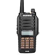 baofeng uv-9r walkie talkie portátil ip67 impermeable bidireccional de radio transmisor-receptor de banda doble 136-174 / 400-520mhz jamón