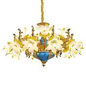 Lámparas Colgantes Luz Ambiente Para Sala de estar Comedor 4500lm 110-120V 220-240V Bombilla no incluida