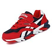 Chico Zapatos Goma Primavera Confort Zapatillas de Atletismo para Gris / Rojo / Azul Real