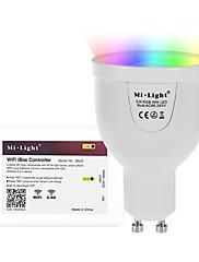 5W Smart LED-lampe A60(A19) 12 SMD 5730 500 lm RGB + Varm Infrarød sensor Fjernstyret WIFI APP kontrol Lysstyring DæmpbarVekselstrøm