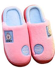 Para Meninas sapatos Flocagem Inverno Conforto Chinelos e flip-flops Para Casual Azul Escuro Vermelho Rosa claro Azul Claro