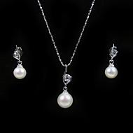cheap Wedding Jewelry-Women's Rhinestone / Pearl Jewelry Set - Gold Others