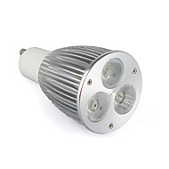 billige Spotlys med LED-ZDM® 1pc 5.5W 400-500lm GU10 LED-spotpærer 3 LED perler Høyeffekts-LED Varm hvit 85-265V