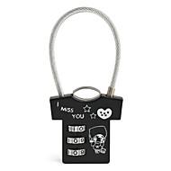 かばん用南京錠 番号錠 桁 コード化されたロック バッグ用小物 紛失・盗難防止 用途 ローラー付きスーツケース