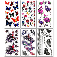 cheap Temporary Tattoos-#(6) Pattern Others Tattoo Stickers