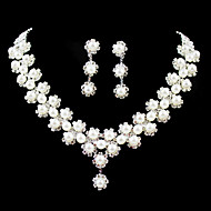 Women S Others Jewelry Set Earrings Necklace Regular For Wedding Party Birthday