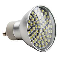 billige Spotlys med LED-2800lm E14 GU10 LED-spotpærer MR16 60 LED perler SMD 3528 Naturlig hvit 220-240V