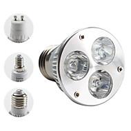 cheap LED Bulbs-3000 lm E14 GU10 E26/E27 LED Spotlight MR16 PAR38 3 leds High Power LED Warm White AC 85-265V