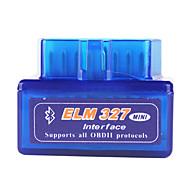 szuper mini ELM327 bluetooth v1.5 OBD2 autó diagnosztikai interfész eszköz - kék