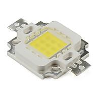 billige Lampesokler og kontakter-diy 10w 800lm 900mA naturlig hvitt lys ledet emitter (9-12v)
