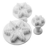 billige Kjeksverktøy-Bakeform For Kake For Småkaker For Cupcales Plast Høy kvalitet Gør Det Selv Jul