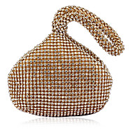 cheap Clutches & Evening Bags-Women's Bags Acrylic Evening Bag Crystal/ Rhinestone for Event/Party All Seasons Gold White Black