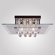 billige Taklamper-SL® 5-Light Takplafond Omgivelseslys galvanisert Metall Glass Krystall, Mini Stil 110-120V / 220-240V Pære Inkludert / G9