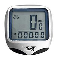 사이클링 자전거 디지털 장비 방수 / 무선 / 나이트 비젼 / 속도 케이던스 센서 / 스톱워치 / 시간 계산기 라이딩 은의 플라스틱