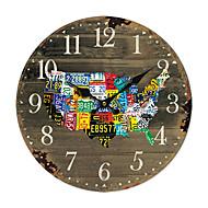 tanie Tamtejsze Zegary ścienne-Amerykański zegar kraj