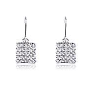 Žene 1 Viseće naušnice Umjetno drago kamenje Tikovina Jewelry Nakit odjeće