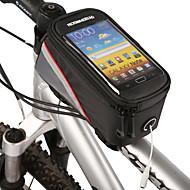 ROSWHEEL Vesker til sykkelramme Mobilveske 4.2 tommers Vanntett Glidelås Innebygd Kjele Veske Støvtett Berøringsskjerm Telefon/Iphone