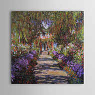 Hand-Painted Famous Square,Modern One Panel Canvas Oil Painting For Home Decoration