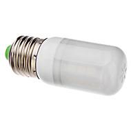 billige Kornpærer med LED-BRELONG® 1pc 3 W 6000 lm E26 / E27 LED-kornpærer T 27 LED perler SMD 5050 Naturlig hvit 220-240 V / 110-130 V