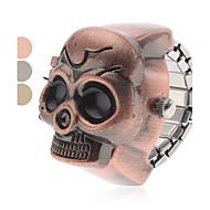billige Quartz-Dame Ringur / Armbåndsur Japansk Bånd Kranium / Mode Brun / Gråt / Bronze / Et år / SSUO SR626SW